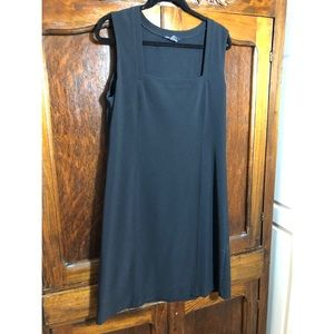 Boston Proper pullover black dress